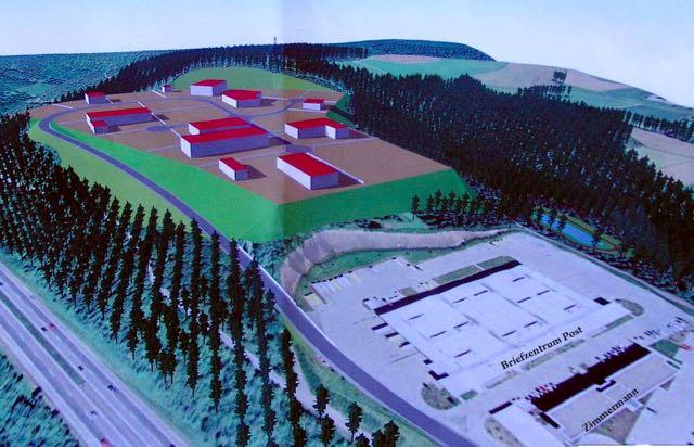 """Die ersten Bilder von den Industriegebiet-Planungen waren exklusiv bei """"Freudenberg-Online-News"""" am 1. Oktober 2011 zu sehen. (Repro: Foto-Prill Freudenberg, veröffentlicht mit freundlicher Genehmigung)"""