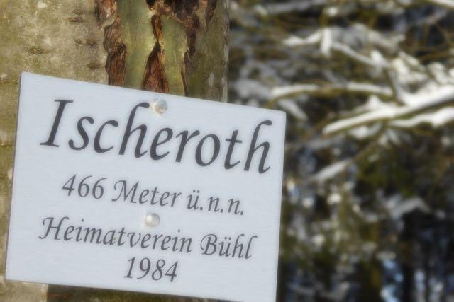 Der Ischeroth ist mit 466 m über NN die höchste Ergebung im Stadtgebiet Freudenberg